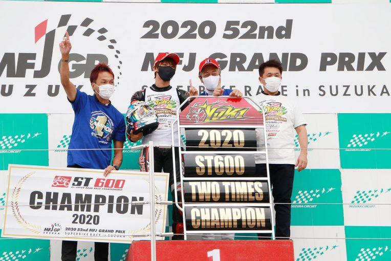 MotoGP | 全日本ロード:ST600のタイトル奪還した岡本裕生「今年がダメだったら終わりだと思った」/チャンピオン特集