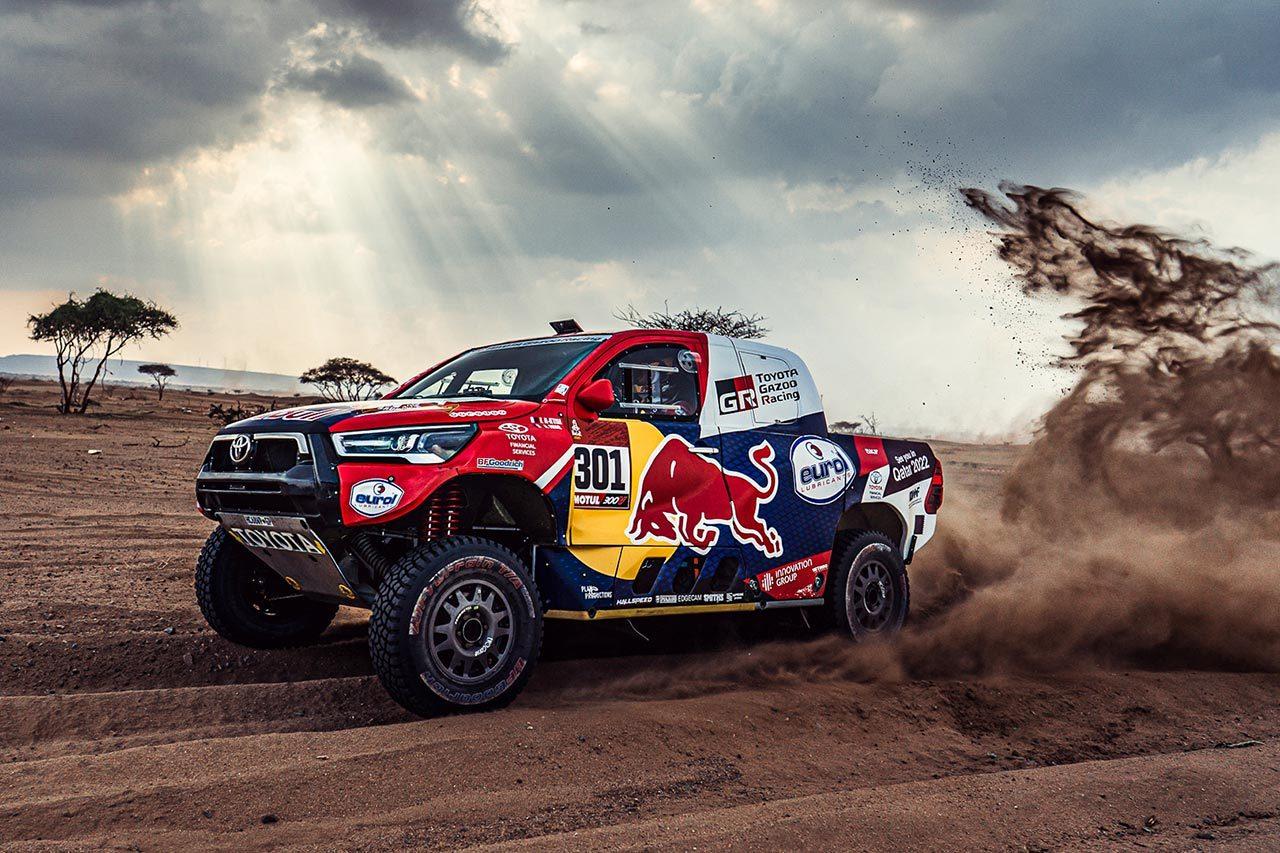 ダカールラリー:TOYOTA GAZOO Racing、ハイラックスで二度目の総合優勝を目指す
