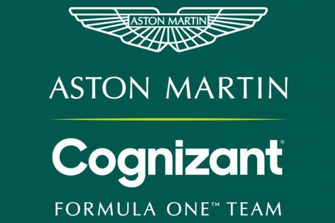 アストンマーティン・コグニザント・フォーミュラワンチームのロゴ