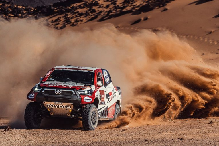 ラリー/WRC | ダカールラリー:5日目はトヨタのドゥビリエがSS優勝。二輪部門ではホンダが総合首位に