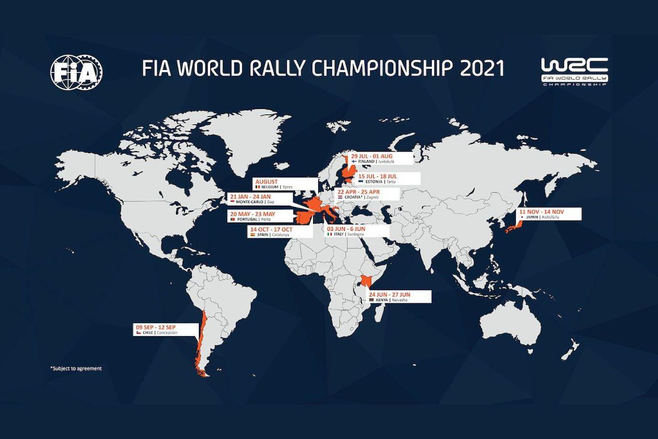 WRC:ラリーGB開催断念。ベルギー・イープルの2021年カレンダー追加が決定