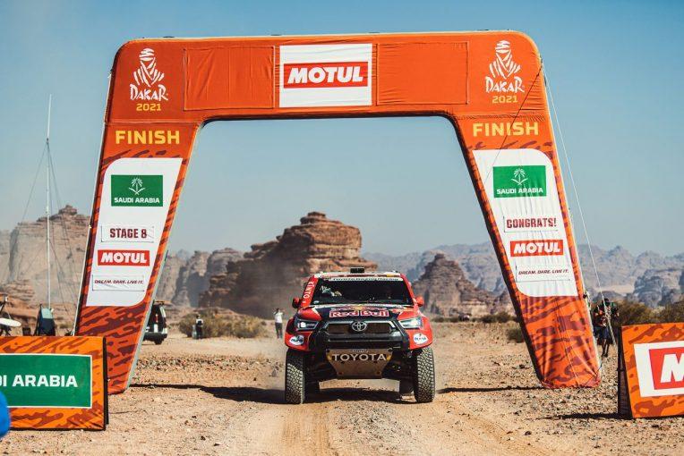 """ラリー/WRC   ダカールラリー:ハイラックス駆る""""砂漠の王""""が反撃開始。今大会5度目のステージウイン"""