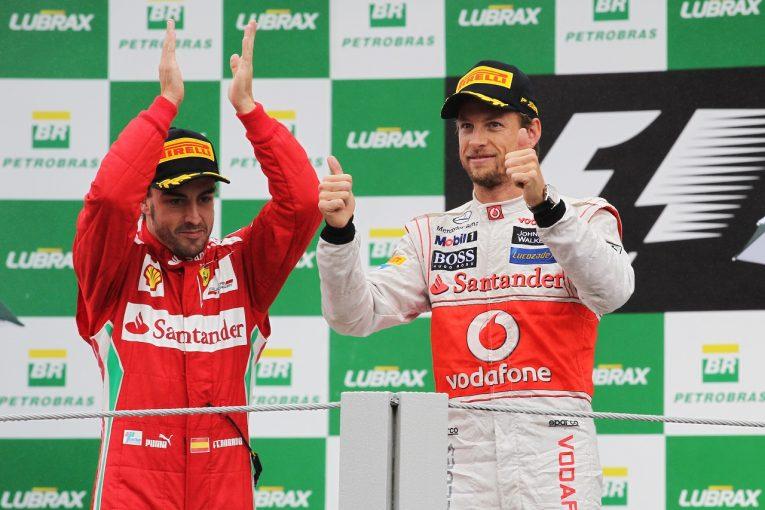 F1 | ジェンソン・バトン、フェラーリF1と契約寸前までいった過去を明かす「一度走ってみたかった」