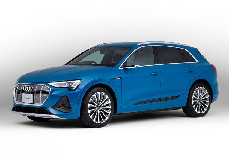 クルマ   アウディ電気自動車e-tronに新グレード『50 quattro』を追加。満充電での航続距離は316km