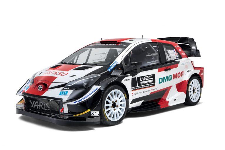 ラリー/WRC   WRC:トヨタ、2021年型トヨタ・ヤリスWRCを初公開。TGR新共通デザイン採用