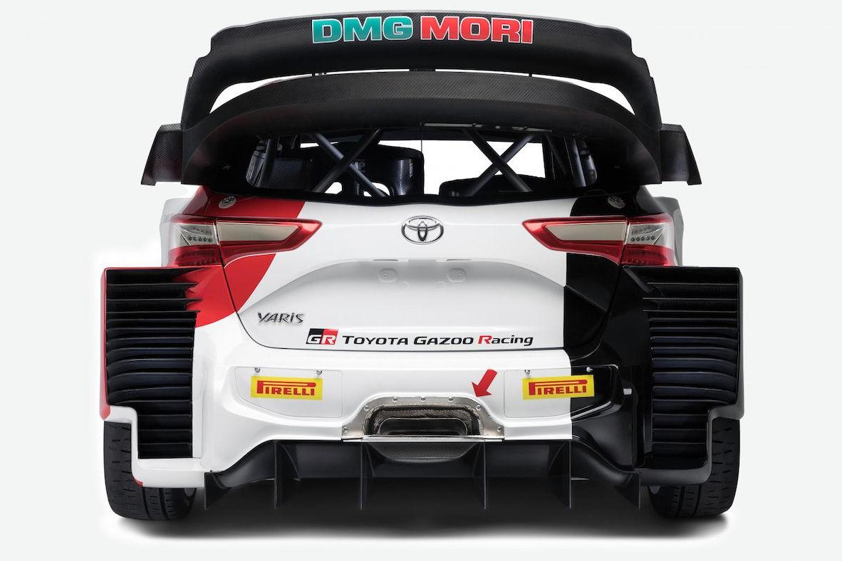 WRC:トヨタ、2021年型トヨタ・ヤリスWRCを初公開。TGR新共通デザイン採用