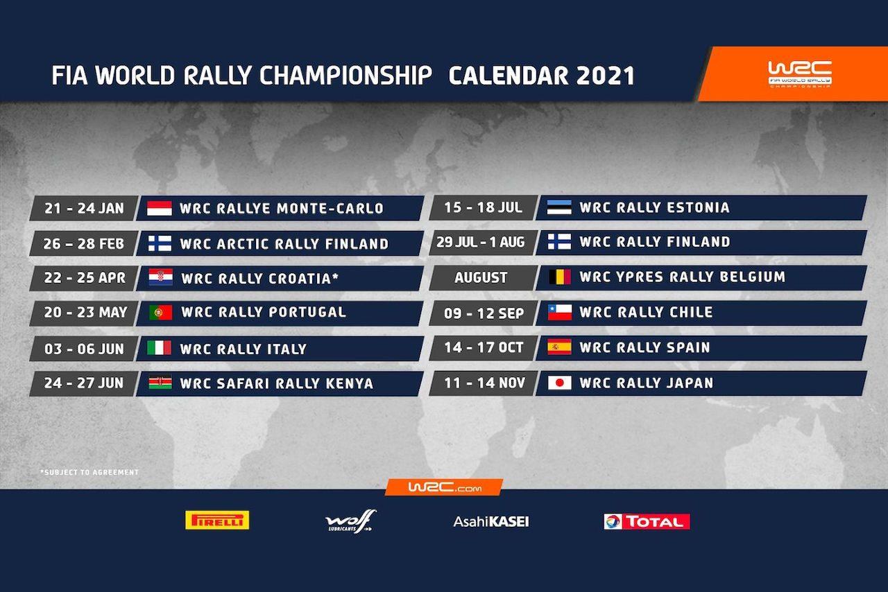 WRC:スウェーデンの代替戦にフィンランドのアークティックラリーが決定。2月26~28日開催