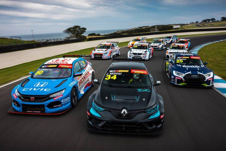 海外レース他 | TCRオーストラリアがプレテスト実施。2021年開幕戦には豪州SC参戦中のモスタートもゲスト参戦