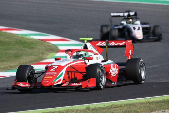 2020年FIA-F3第9戦ムジェロ レース1 フレデリック・ベスティ(プレマ・レーシング)