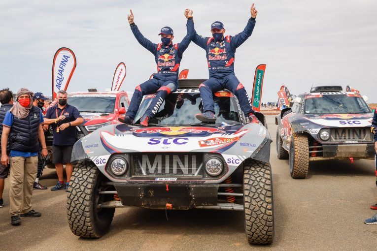 ラリー/WRC   ステファン・ペテランセルが通算14回目のダカール制覇! 二輪部門はホンダが連覇達成