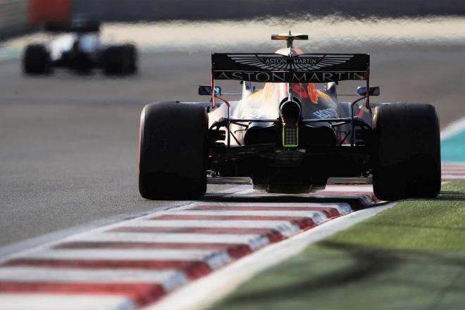 2020年F1第17戦アブダビGPでのレッドブルRB16・ホンダ
