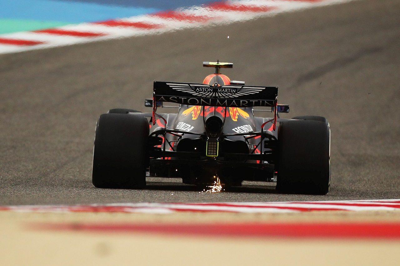2020年F1第15戦バーレーンGPでのレッドブルRB16・ホンダ