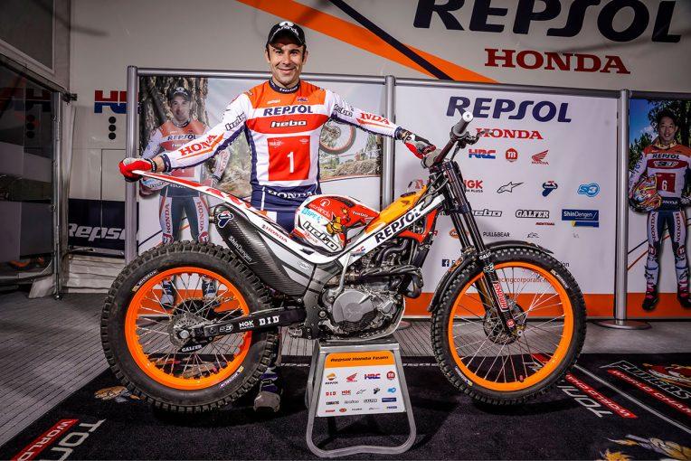 MotoGP | トライアル世界選手権:HRCとトニー・ボウが3年間の契約延長。ワークスのレプソル・ホンダ・チームで参戦