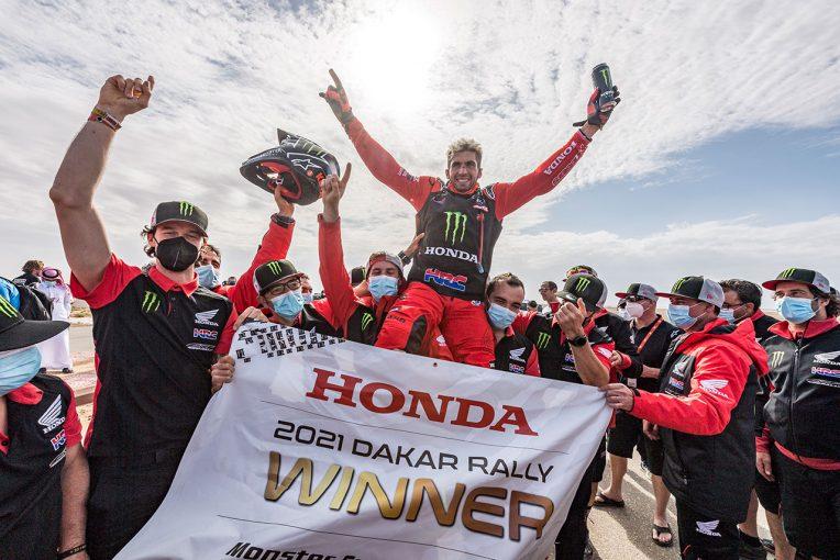 MotoGP | ダカールラリー2021でホンダがワン・ツー。総合優勝はケビン・ベナビデス、総合2位はリッキー・ブラベック