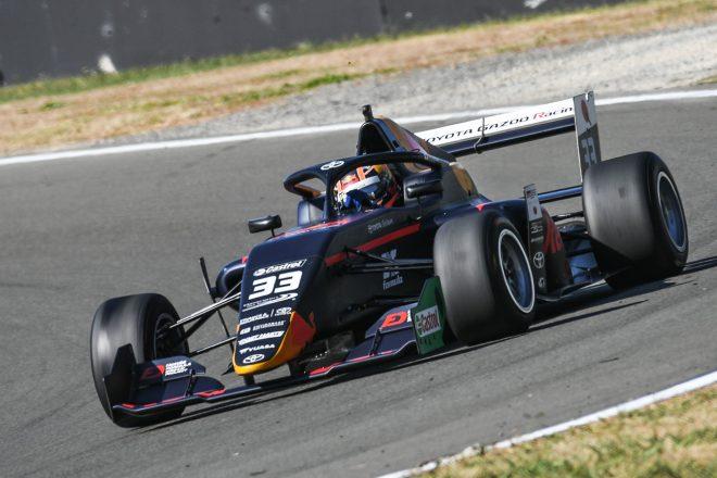 2020年1月〜2月の間に5大会15レースが開催されたカストロール・トヨタ・レーシング・シリーズ。角田はM2コンペティションから参戦し、ランキング4位の成績を残した。