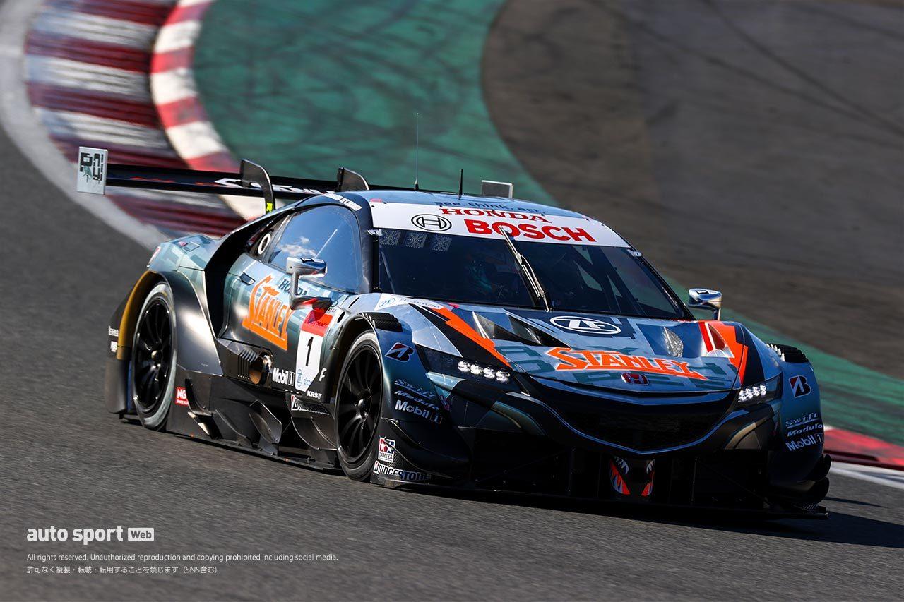 スーパーGT:11台が参加し富士スピードウェイでGT500合同テストがスタート
