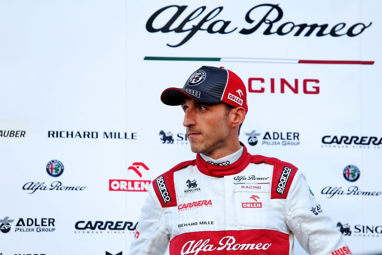 2020年にアルファロメオ・レーシングのリザーブドライバーに就任したロバート・クビサ