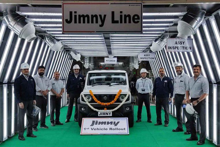 クルマ | スズキ、インドで『ジムニー』の生産・輸出を開始。グローバルでの生産体制を強化