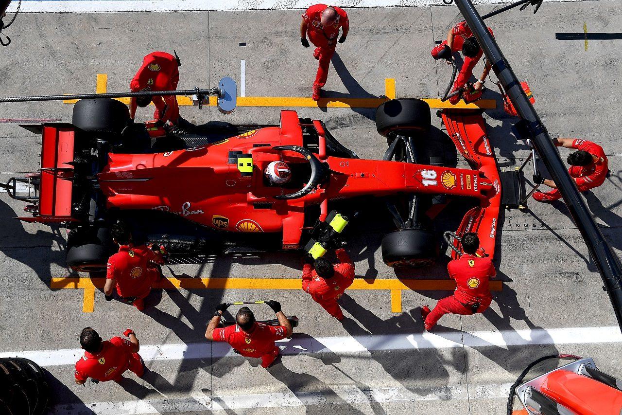 2020年F1イタリアGP シャルル・ルクレール(フェラーリ)