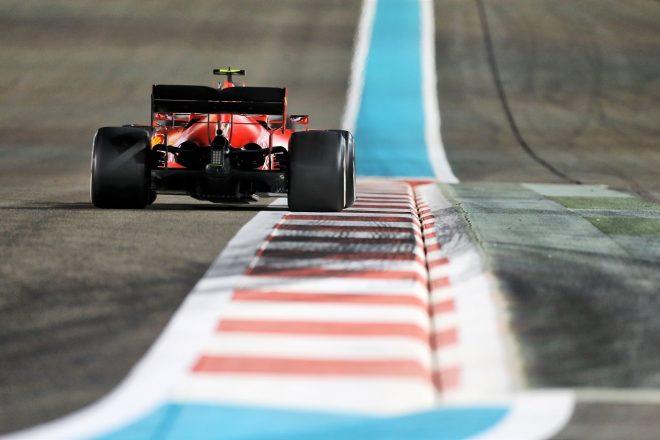 2020年F1アブダビGP シャルル・ルクレール(フェラーリSF1000)
