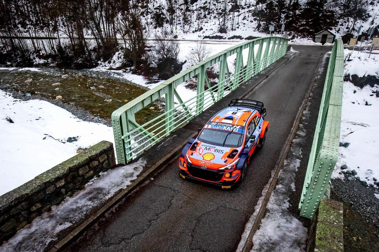 【順位結果】2021年WRC第1戦モンテカルロ SS2後