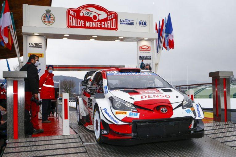 ラリー/WRC | トヨタ勢は初日2、3番手。伝統のWRCモンテカルロ開幕「良いスタートを切ることができた」とラトバラ
