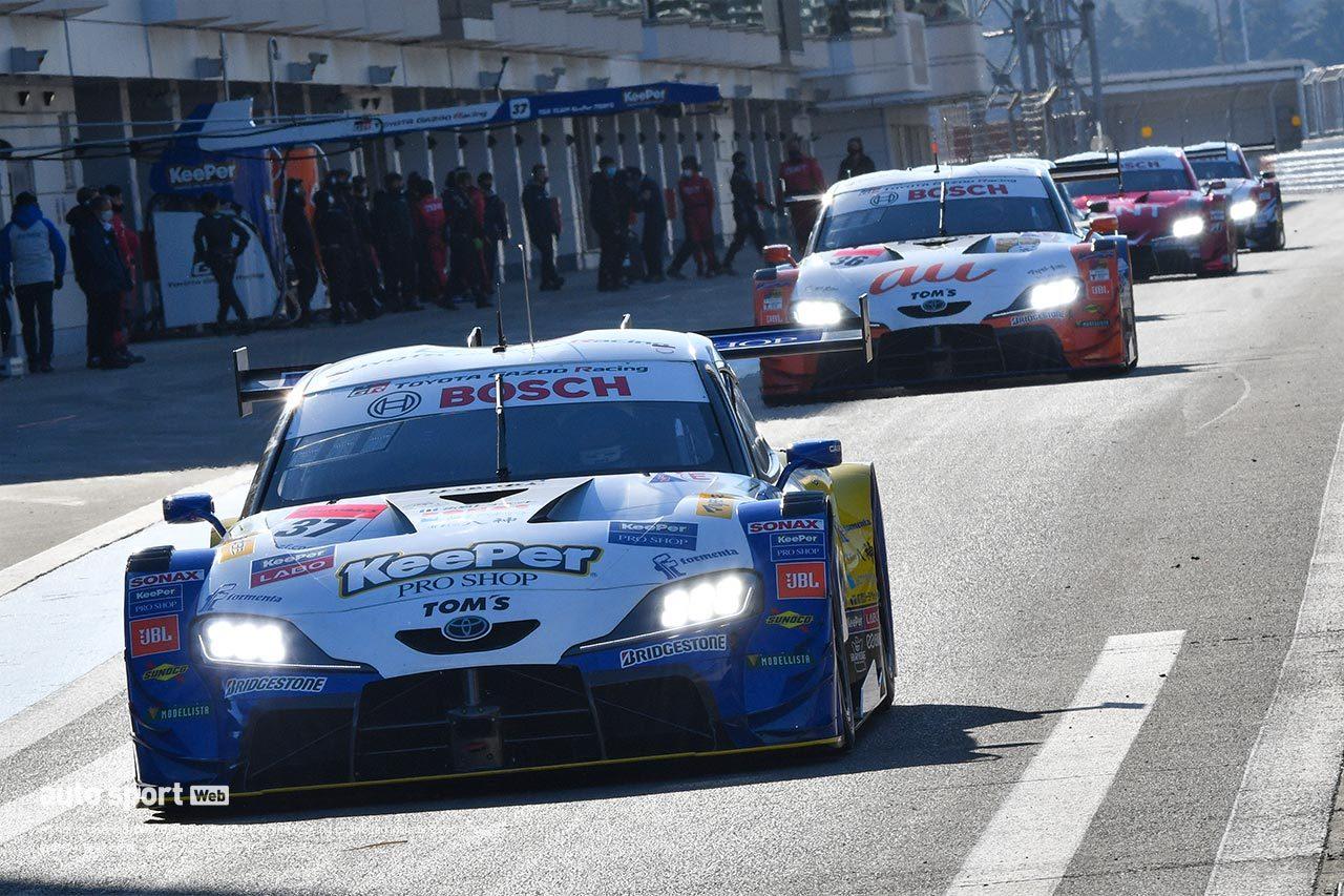 TOYOTA GAZOO Racing、2021年のスーパーGT GT500ラインアップを発表。3台がドライバー変更