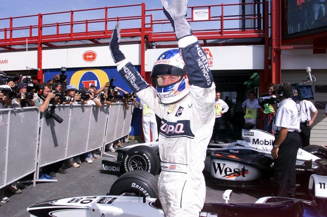 2000年F1ベルギーGPでのジェンソン・バトン(ウイリアムズ)