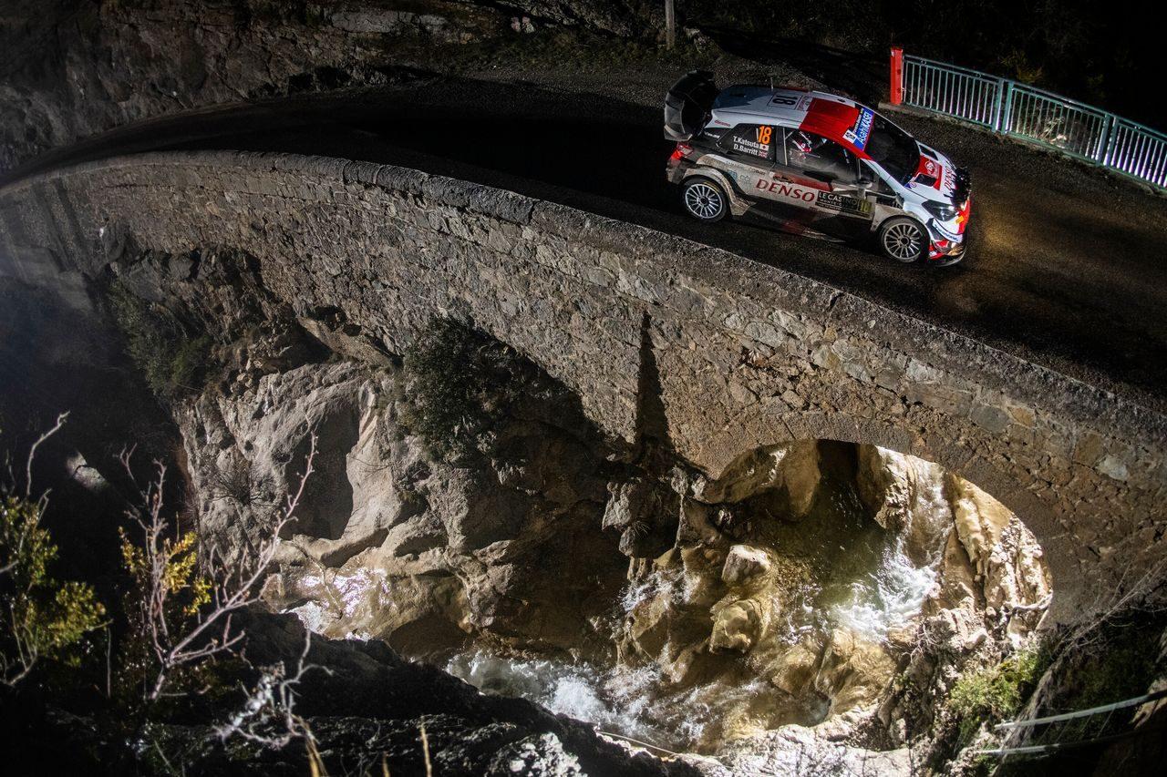【順位結果】2021年WRC第1戦モンテカルロ SS7後