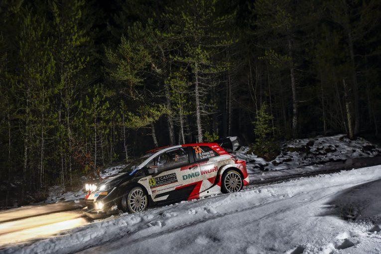 ラリー/WRC | トヨタのエバンスが首位浮上。オジエはSS4本制すもパンクでタイムロス/WRCモンテカルロ