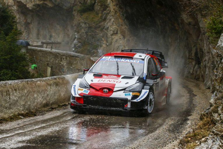 ラリー/WRC   トヨタ、エバンスとオジエが1-2でWRC開幕戦2日目を終える。ラトバラ「全員が良い仕事をしてくれた」