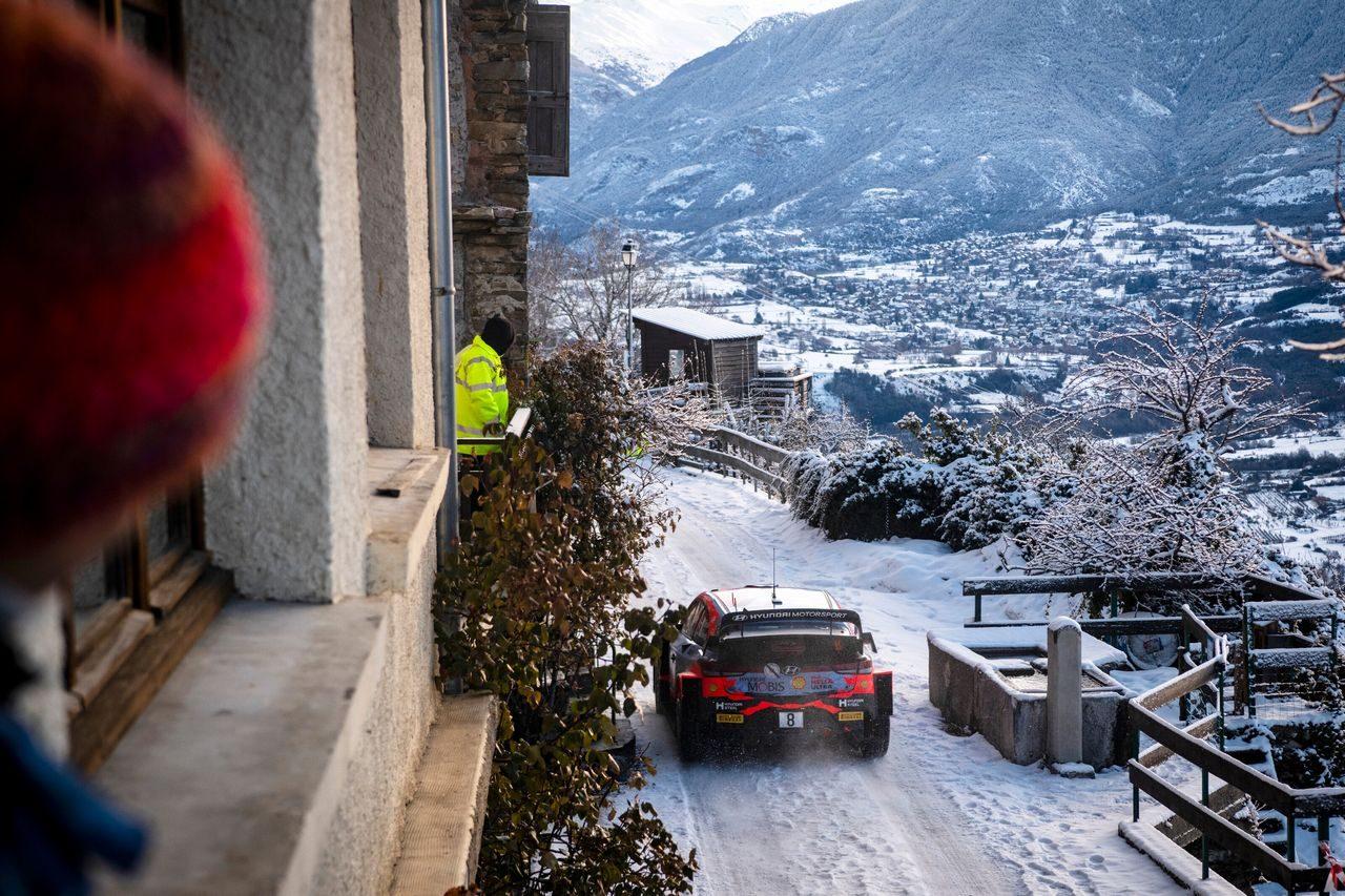 【順位結果】2021年WRC第1戦モンテカルロ SS11後