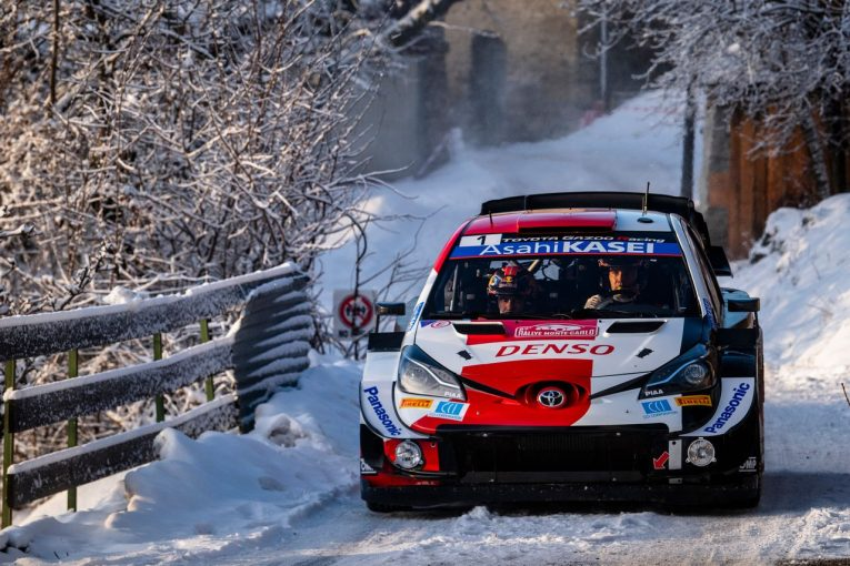 ラリー/WRC | オジエを先頭にトヨタ勢がワン・ツー・スリー。タナクはWRCモンテカルロ2年連続リタイア