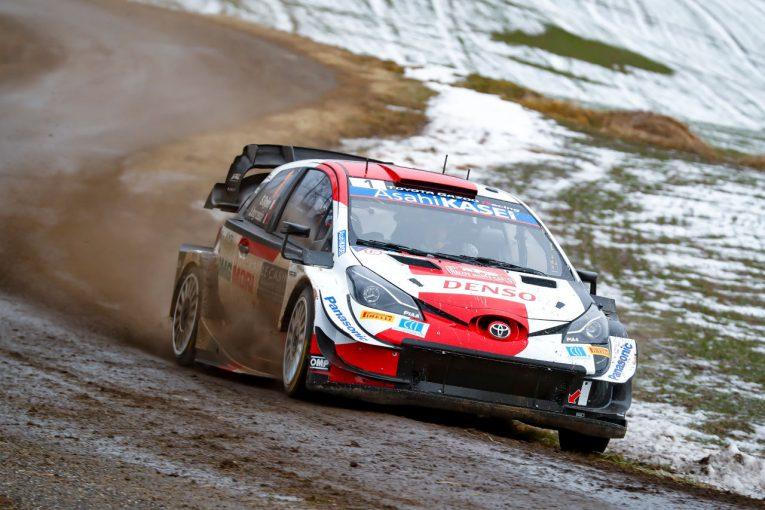 ラリー/WRC | トヨタ、最終日を前にトップ3独占。勝田貴元も6番手「最後まで冷静に」とラトバラ/WRCモンテカルロ