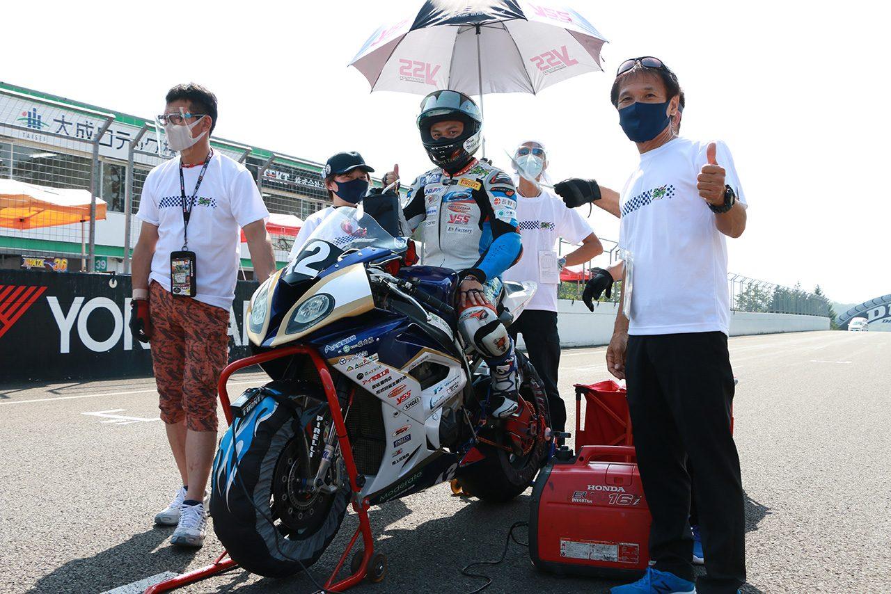信州活性プロジェクト・Team長野が体制発表。東村伊佐三が全日本ロードにフル参戦、鈴鹿8耐は櫻山茂昇とタッグ