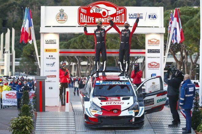ラリー/WRC | トヨタ、1998年以来のWRCモンテカルロ優勝&ラトバラ新体制の初勝利を1-2で飾る