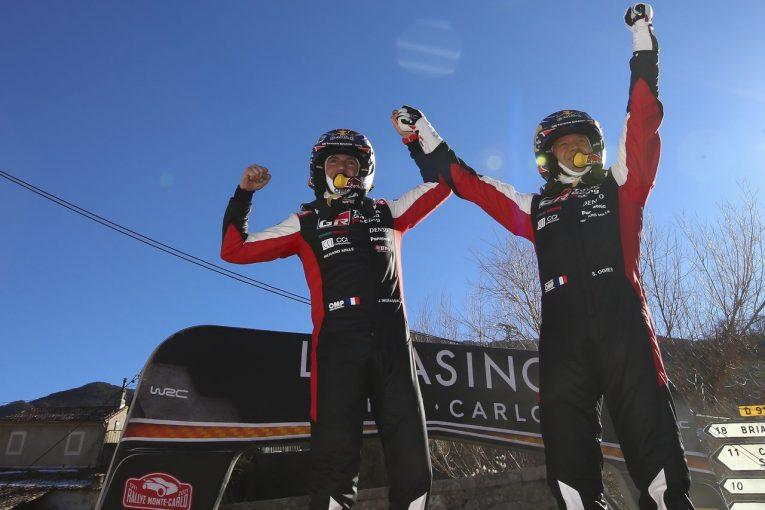 ラリー/WRC   現役続行は「正しい決断だったと思う」とオジエ/2021WRCモンテカルロ デイ4後コメント