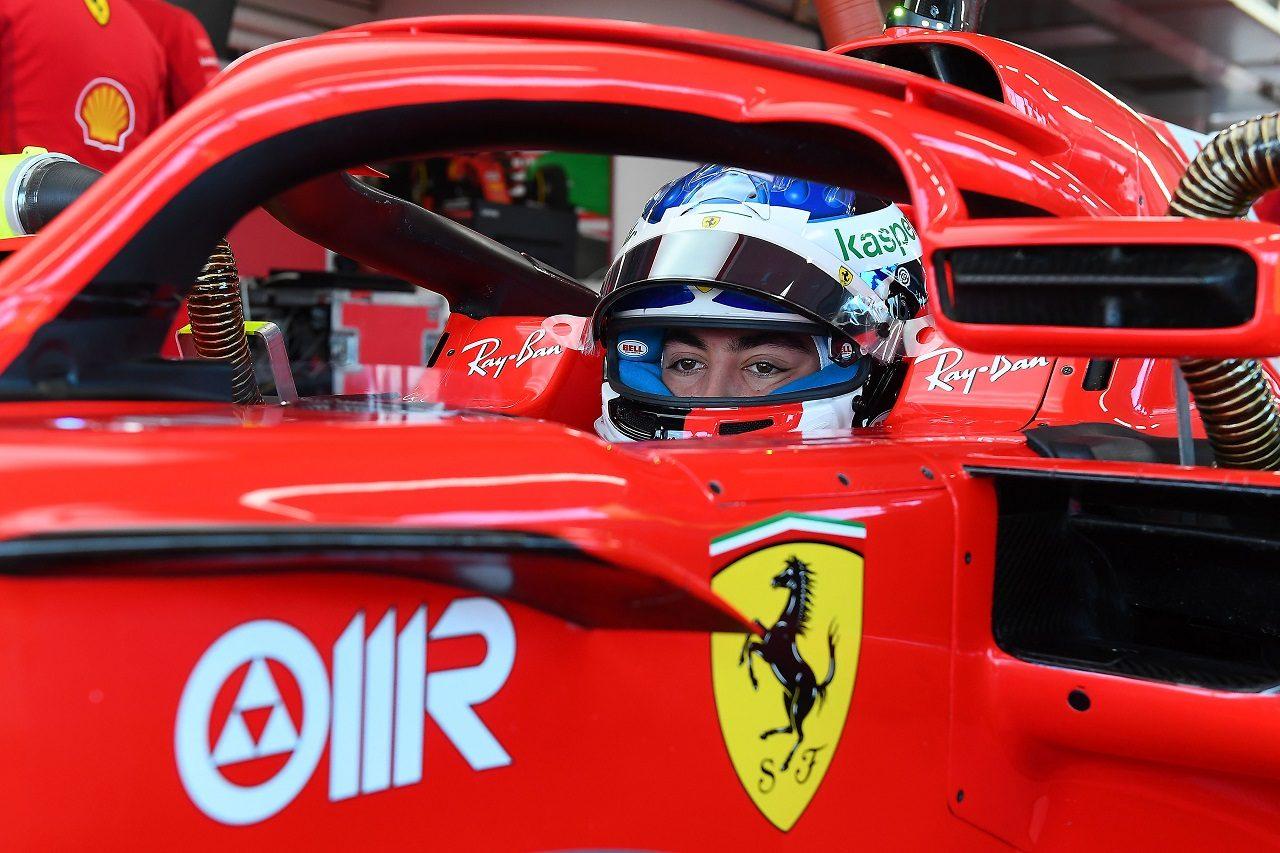 F1 | フェラーリが5日間のテストを開始。父が見守るなかアレジがF1初走行、FDAに別れを告げる