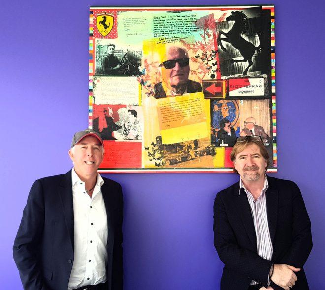 キース・サットン(左)とマーク・ディケンス(右)