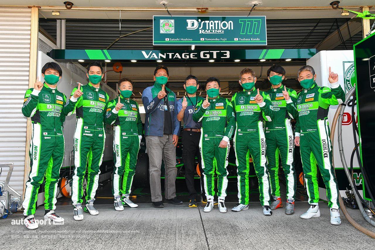 D'station Racing、2021年もスーパー耐久ST-X/ST-Zに参戦。シリーズスポンサーも継続