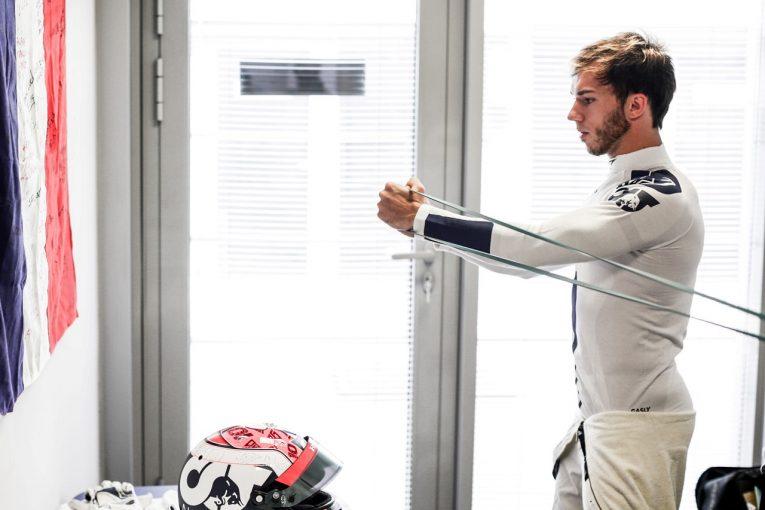 F1 | アルファタウリ・ホンダF1のガスリー、23戦の過酷なシーズンに備えハードトレーニング中