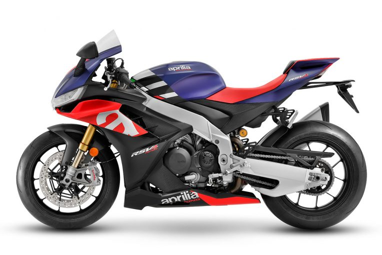 MotoGP   アプリリア、新型『RSV4』と『トゥオーノV4』を発表。エンジン、デザイン、電子制御など大幅に刷新