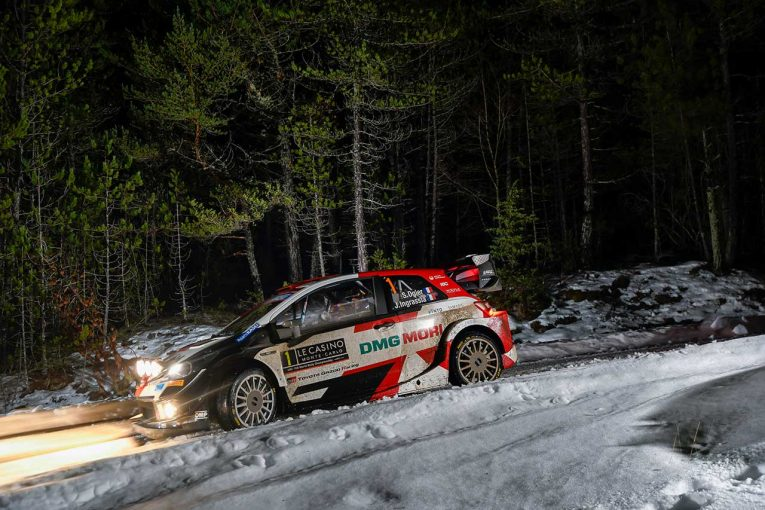 """ラリー/WRC   異次元の対応力で他を圧倒。""""冬山の王""""オジエとヤリスWRCのシンクロ率は100%へ/WRCモンテカルロ"""