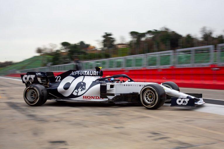 F1 | アルファタウリ・ホンダF1の角田裕毅が2021年初走行。旧型車でデビューへの準備