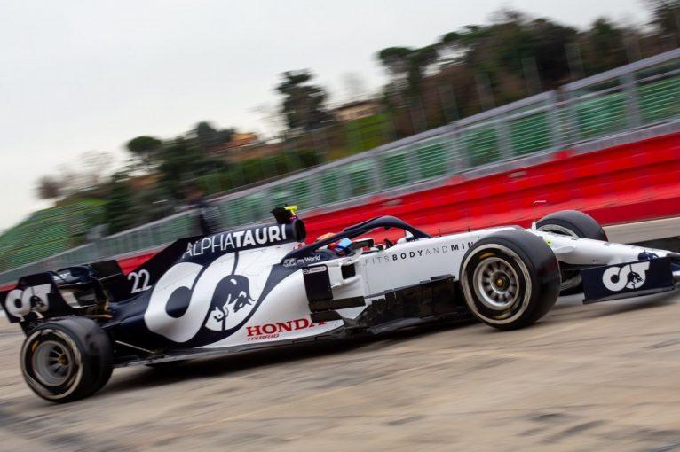 F1 | アルファタウリ・ホンダF1の角田裕毅、2019年型車でのテスト2日目を終える「多くを学び、素晴らしい経験ができた」
