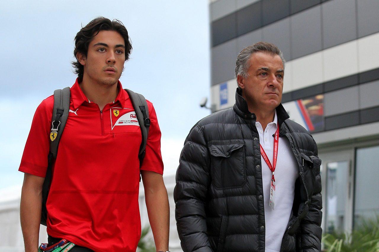 ジュリアーノ・アレジと父のジャン・アレジ