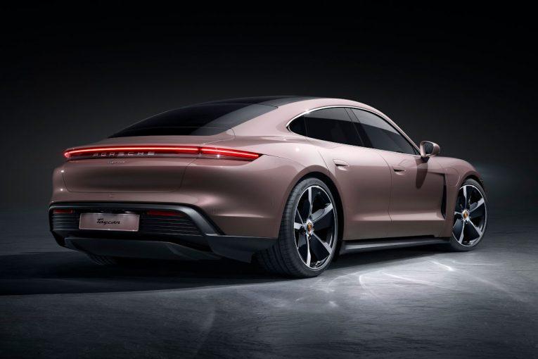 クルマ | ポルシェのフル電動スポーツカー『タイカン』に後輪駆動モデルが追加