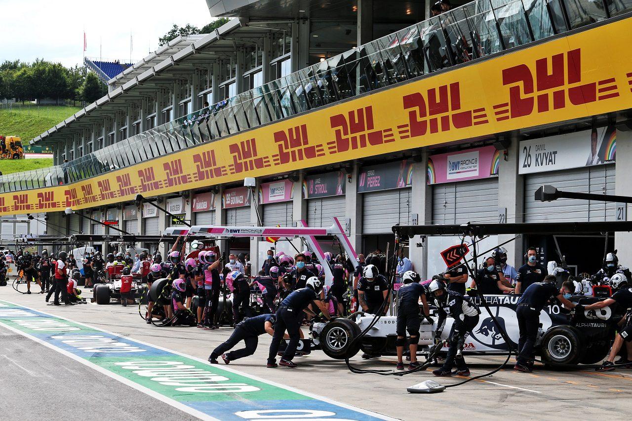 2020年F1オーストリアGP金曜プラクティス