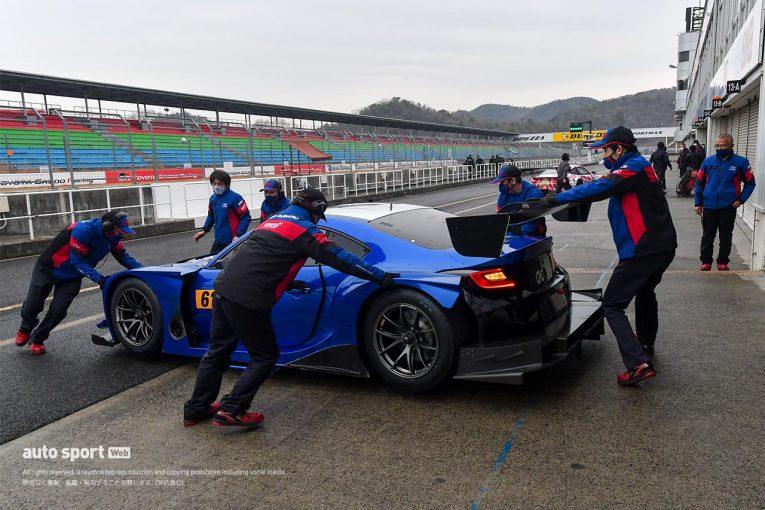 スーパーGT | 岡山国際サーキットで8台のGT300車両が参加しスポーツ走行を実施。注目のマシンも登場