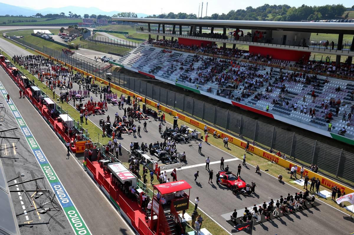 2020年F1第9戦トスカーナGP グリッド